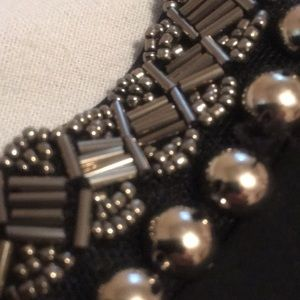 XOXO Tops - XOXO Black Studded Open Back Top